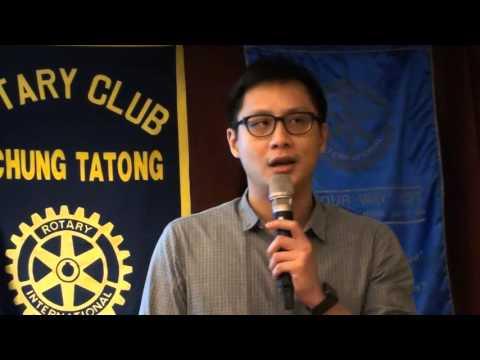 2016-04-07 大同扶輪社例會及Rtn. J-Mall 林晉頡社友演講「Jeff Lin Profile」
