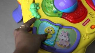 Fisher Price Lights & Sounds Activity Table Review|toddler Activity Table