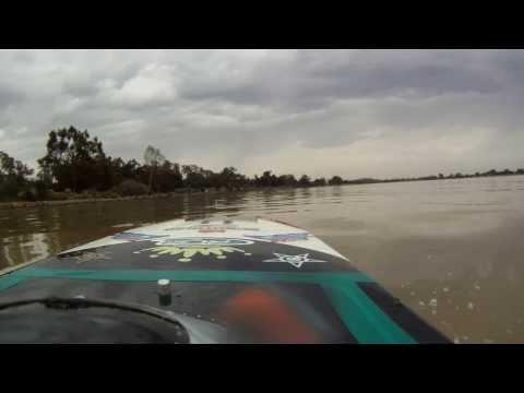 Rc Boat Adventures - Icon A5/Blackjack 26 cc nitro - Lake Albert Fun