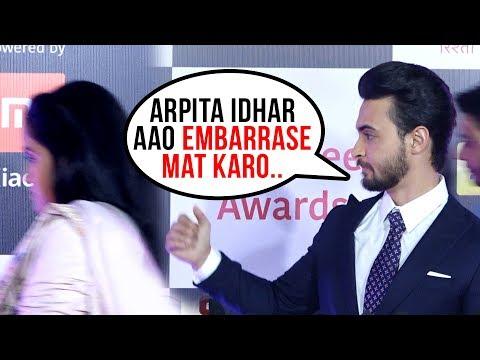 Arpita Khan LEAVES Aayush Sharma, Walks Off From Red Carpet