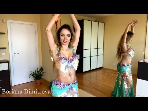 Boriana Dimitrova Belly Dancer - Drum Solo