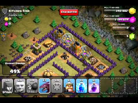 New Update) Clash of Clans - Hench Hunters - Kitchen Sink level 46 ...