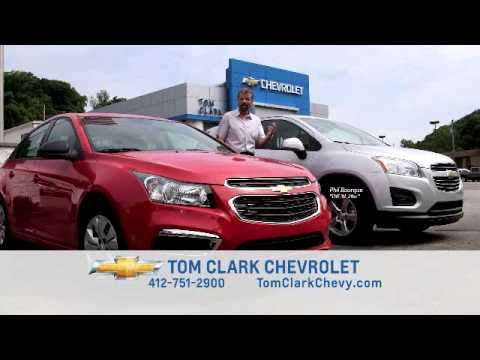 Tom Clark Chevy >> 2015 Chevy Cruze And 2015 Chevy Trax