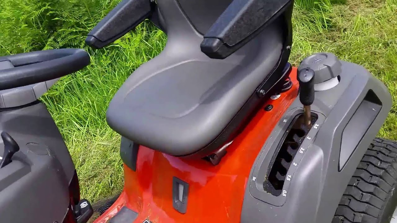 Husqvarna YTH24V48 24 HP Yard Tractor Review