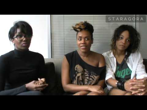 Interview de Louisy Joseph, Lynnsha et Fanny J pour Tropical Family