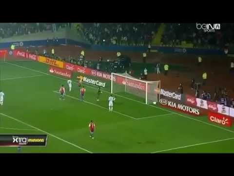 Arjantin - Paraguay 6-1 Maç Özeti - Kupa Amerika 2015