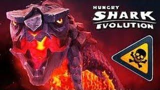 Hungry shark evolution : tubarão de fogo