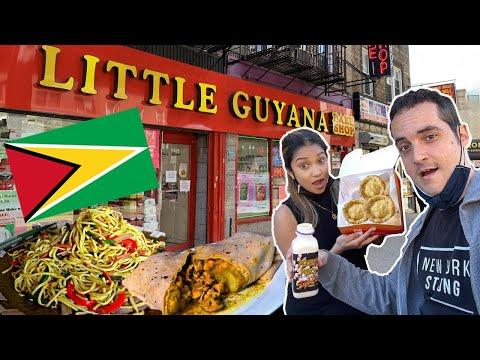 NEW YORK'S BEST KEPT FOODIE SECRET? Little Guyana, Queens! 🤐
