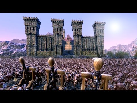 The Battle For Middle Earth - Helms Deep!!! | Ultimate Epic Battle Simulator HD