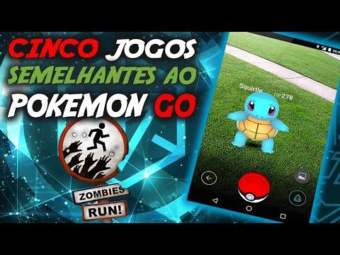 Pokemon GO ► 5 Jogos Parecidos (Realidade Aumentada)