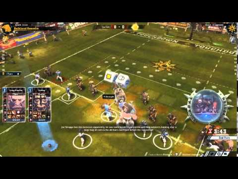 Blood Bowl 2 Campaign Match 9 - Vs. The Chaos All-Stars