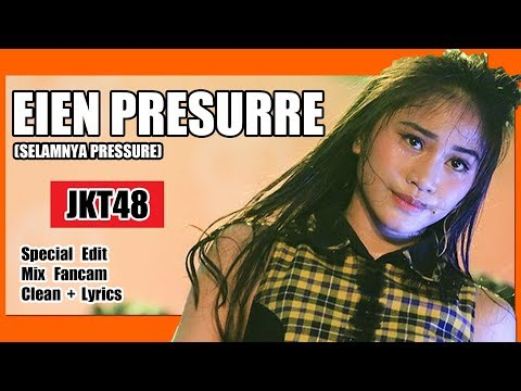 [Clean + Lirik] JKT48 - Eien Pressure @ Team KIII at HS Event Halloween Night