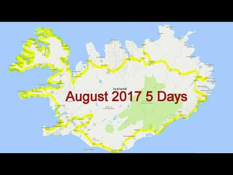 Iceland Trip August 2017