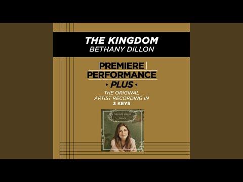 The Kingdom (Medium Key-Premiere Performance Plus w/ Background Vocals)