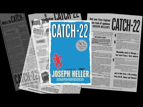 an analysis of the work by joseph heller and the publication of the novel catch 22 Literary criticism sites about catch-22 by joseph heller at a celebration for the 25th anniversary of the publication of catch-22, heller was warmly.