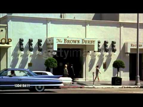 "the Brown Derby in Hollywood 1965. ""Vintage Los Angeles"" on Facebook"