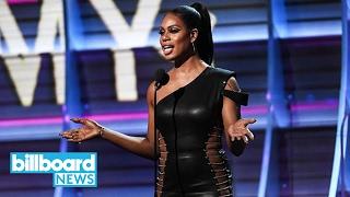 Laverne Cox Shouts Out Transgender High School Senior Gavin Grimm at 2017 Grammys | Billboard News