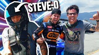 STEVE-O Ridealong In My Formula Drift Supra!