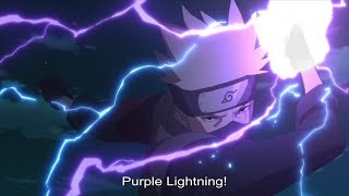 Kakashi - Purple Lightning !