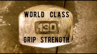 Grip Strength Training w/ Brian Shaw Strongman - B