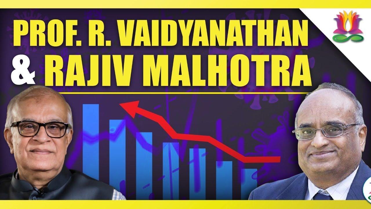 Professor R. Vaidyanathan and Rajiv Malhotra in Discussion