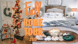 FALL HOME TOUR 2019 | FALL FARMHOUSE DECOR | HALLOWEEN IDEAS