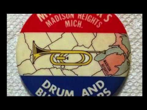Classic Midwest Drum & Bugle Corps Buttons