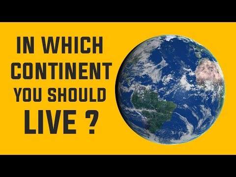 What Continent you should live on ? Personality Test