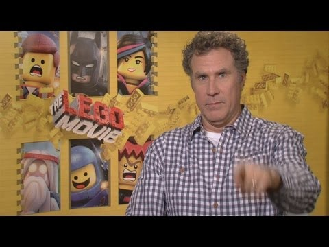 Chaos at the Lego Movie interviews: Will Ferrell, Elizabeth Banks, Will Arnett and Chris Pratt