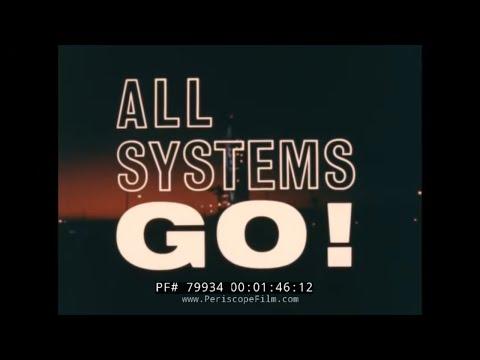 Nasa Project Gemini Film All Systems Go Project Mercury