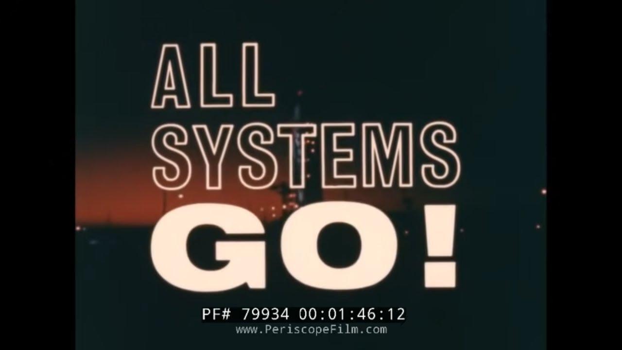 "Download NASA 1963 PROJECT GEMINI FILM ""ALL SYSTEMS GO"" PROJECT MERCURY  79934"