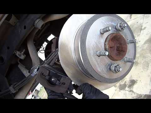 How To Replace Rear Brake Pads and Rotors on '04-'08 Ford F-150