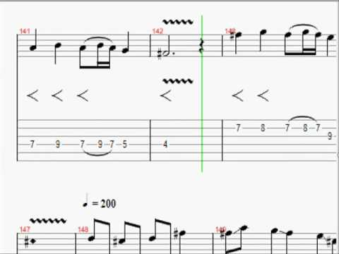 CANON ROCK JerryC Sheet Music with Tabs and Full Accompaniment ...