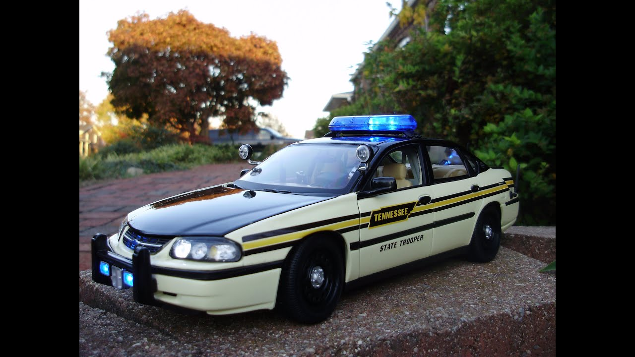 Custom 1 18 Scale Chevrolet Impala Tennessee Highway