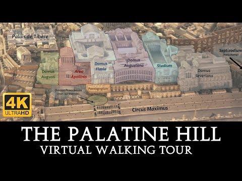 Palatine Hill Virtual Walking Tour in 4K
