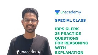 Special Class - 35 Practice Questions for Reasoning with Explanation - Siddhant Jain