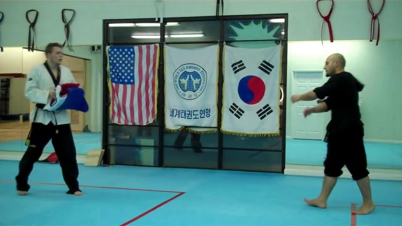Taekwondo Advanced Sparring Techniques Vol 1