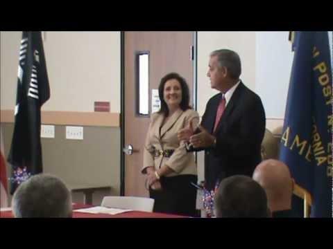 Vann, Veteran Service Discussion, Dixon CA, 10 4 12