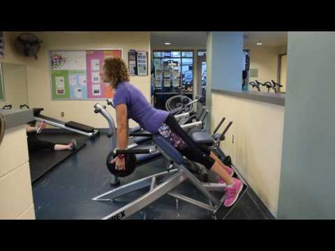 Equipment Demo #10 - How to Use a Back Extension Machine