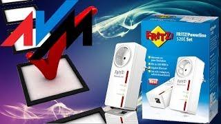 Hardware Check #02 -  AVM FRITZ! Powerline 520E Netzwerk erweitern