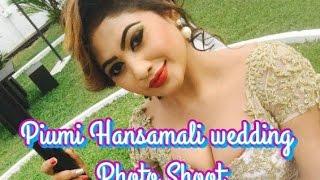 Piumi Hansamali wedding Photo Shoot
