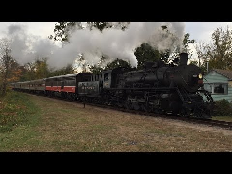 Chasing the Providence and Worcester Two Rivers Steam Special