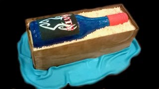 How To Make A Bottle Cake