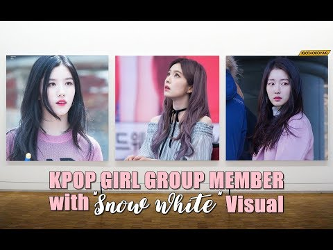 Kpop Girl Group Member with 'Snow White' Visual