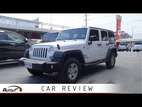 2018 Jeep Wrangler Unlimited Sport - Used Car Review (Philippines)