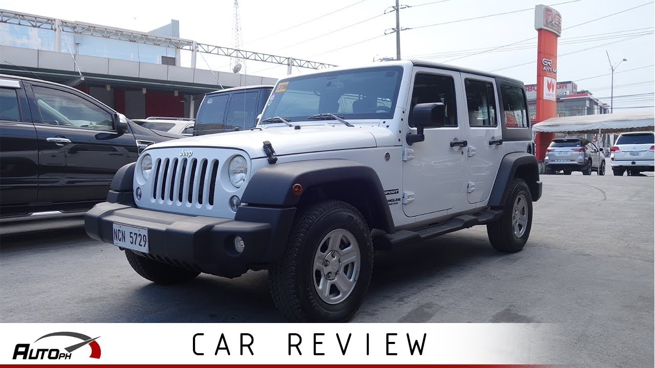 2018 Jeep Wrangler Unlimited Sport Used Car Review Philippines Youtube