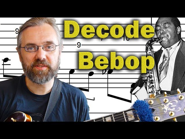 Bebop Jazz Guitar Licks - Classic Bebop Sound Decoded - Advanced Jazz Guitar Lesson