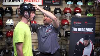 How to Properly Fit a Hockey Helmet Tutorial