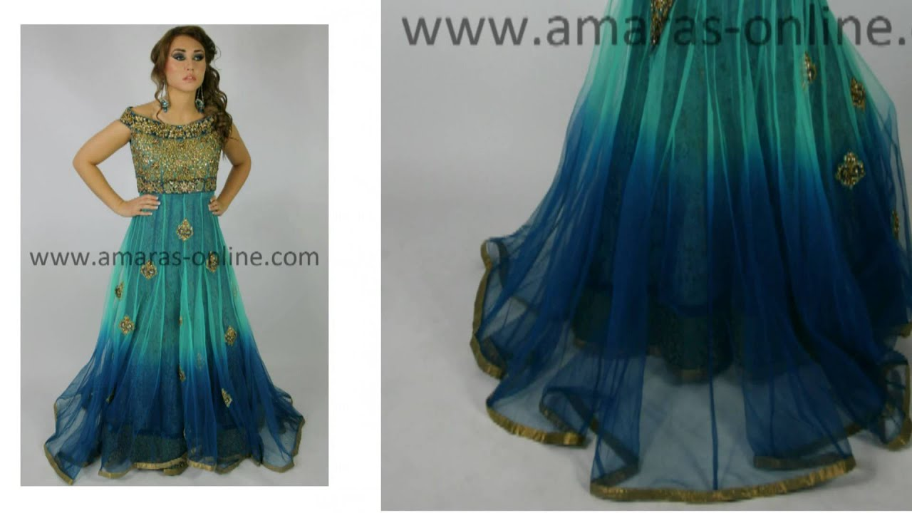 Amaras Online - www.amaras-online.co.uk - Asian Dresses - YouTube