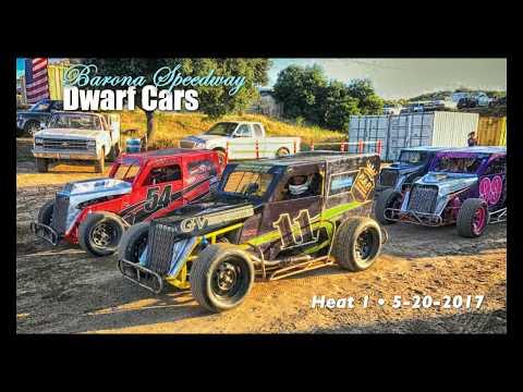 Barona Speedway Dwarf Cars •Heat 1 5-20-2017